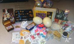 Selling a bulk lot of egg art and decoupage kits, comes