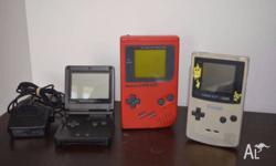 Selling my prized gameboy collection :( $50 each, or