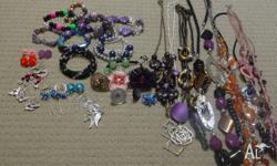 Necklaces, bracelets, rings & earrings All Never Been