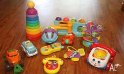 I am selling this lot of baby toys includes 1. Fisher