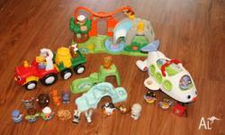 I am selling this lot of Fisher Price Little People