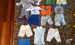 bulk lot of baby clothes to fit 0-6 months, great