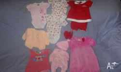 Girls size 000 clothing, all in excellent condition. A