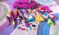 Bulk collection of Polly Pockets including lots of