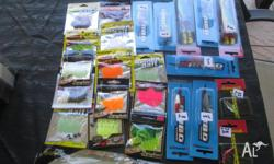 CLEARANCE OF LEFTOVER LURES ALL NEW UNUSED, 11 MIXED