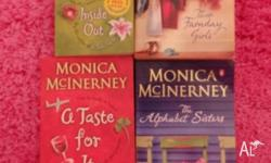 BULK MONICA MCINERNEY BOOKS THE ALPHABET SISTERS, A
