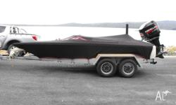 SKI BOAT BULLET 1750. 200 Hp Fuel injected Mercury out