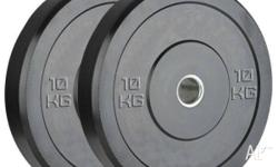 Bumper Plates Comercial grade all size available 5kg