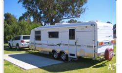Aussie Wide Bunderra Semi-Offroad Caravan delivered new