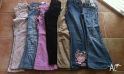 I have a small bundle of 7 x trousers including some