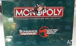 I have one Monopoly board game for sale; rare Bunnings