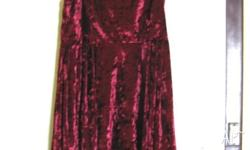 Lying flat, this dress measures approx 35cm, from