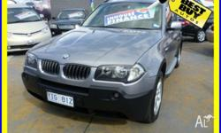 Make: BMW Model: X3 Year: 2005 Type of car: Other VIN