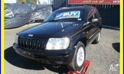Make: Jeep Model: Grand Cherokee Year: 1999 Type of