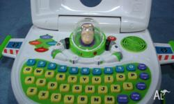 good condition buzz light year laptop