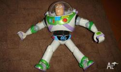 Buzz Lightyear talks. Pick up Huntly or can post at