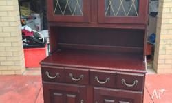 CABINET ANTIQUE LOOK AS PICTURED WAS $55 NOW REDUCED