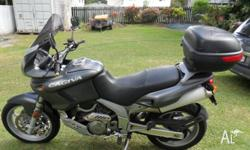 Excellent motorcycle for touring around the country or