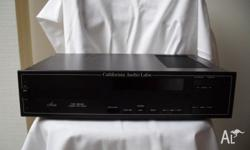 California Audio Labs Aria tube analog cd player 1989