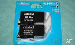 Calidad Twin pack Black ink Cartridge For use in these