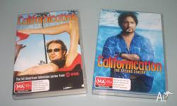 Up for grabs is Californication - The First Season. DVD