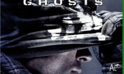 Pretty much brand new COD Ghosts for Xbox one, no
