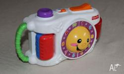 MUSICAL CAMERA - FISHER PRICE Play toy only, does not