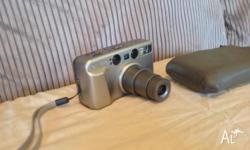 Camera, Case, Battery's, 105mm Zoom, Great camera no