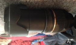 UP FOR SALE Is a Tamron Camera Lens that's for a Nikon/