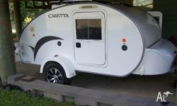 2011 Basoglu Fibreglass Camper Trailer as new. 2x20w