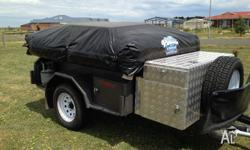 240 Volt and 12v when camping 7� x 4� off road camper