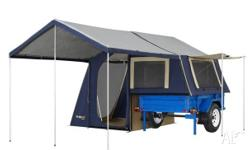 Camper Trailer 6x4 Deluxe OzTrail Camper 6 On Road