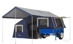 Camper Trailer 6x4 Deluxe OzTrail Camper 7 On Road