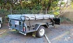 Simple Entry level Camper Trailer with easy set up