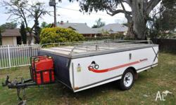 *Regretable Sale* Much loved 1998 CUB Camper Trailer