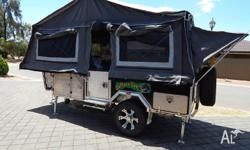 CAMPER TRAILER FOLDING FORWARD CAMPER BRAND NEW WITH A