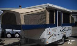 Camper trailer - Jayco Hawk 6 Berth Family Van On Road