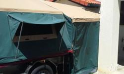 Camper Trailer with full length Annex. Portable Gas