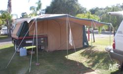 12 Foot Camper Trailer Top Tent only. We have decided
