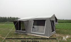 Brand New Camper Trailer Tent. Total Area = 4450mm x