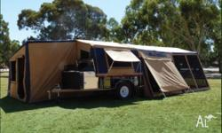 ITEM: Camper Trailer TENT ONLY � Box�n�Dice 12� 14oz