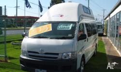 CAMPER VAN TOYOTA HIACE HITOP VOYAGER, 2007, Automatic