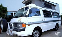 1998 Mazda DOVE CAMPERS, AUTOMATIC POP TOP CAMPERVAN ,