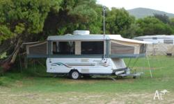For Sale 2001 25th Anniversary Jayco Swan Campervan