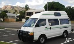 I am selling Campervan Toyota Hiace which is in
