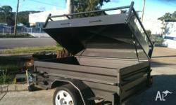 CAMPING TRAILER EXTENED DRAW BAR, 2011, Specialist