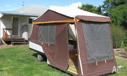 Campomatic hard Floor Camper Trailer. New Zealand