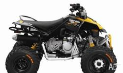CAN-AM,MINI DS,90 X,2010, BLACK YELLO, ATV, 90cc, 2