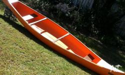 Canadian Canoe ( Hawk) 2 Seater, Paddles incl. Very