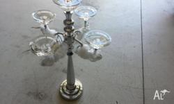 Elegance at it's best! Brand new candle holder, still